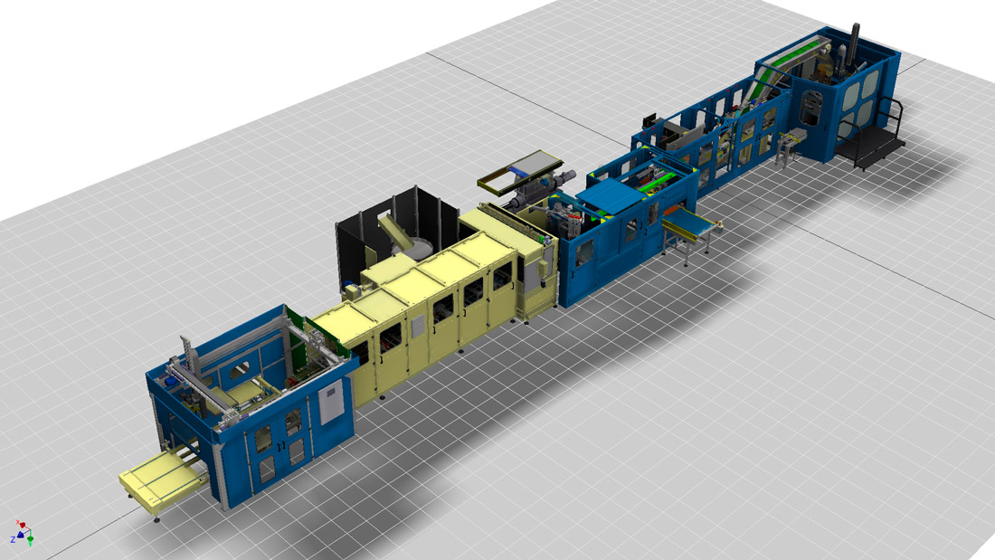 Industrial Plate Production Line